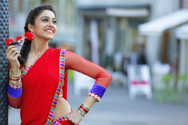 Regina Cassandra still in Jyo Achyutananda movie
