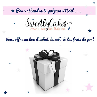 Illustration Concours Spécial Noël avec Sweetly Cake