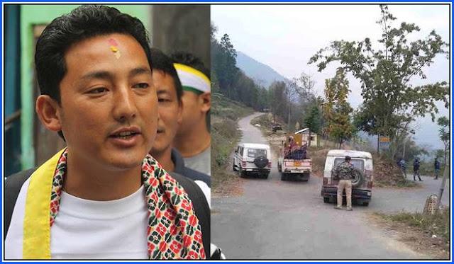 Dawa Lepcha House raided in Kalimpong police