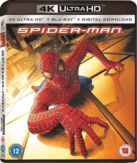 Spider-Man 4K (2002) 2160p 4K UltraHD HDR BluRay REMUX 50GB mkv Dual Audio Dolby TrueHD ATMOS 7.1 ch
