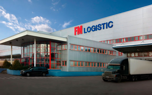 Fachada de una de las sedes de FM logistic