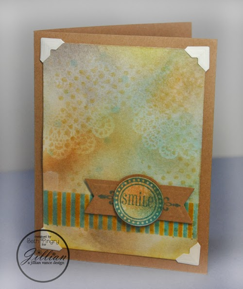 Beth Pingry Charming Smile Card
