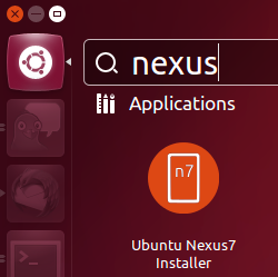 Ubuntu on Google Nexus 7