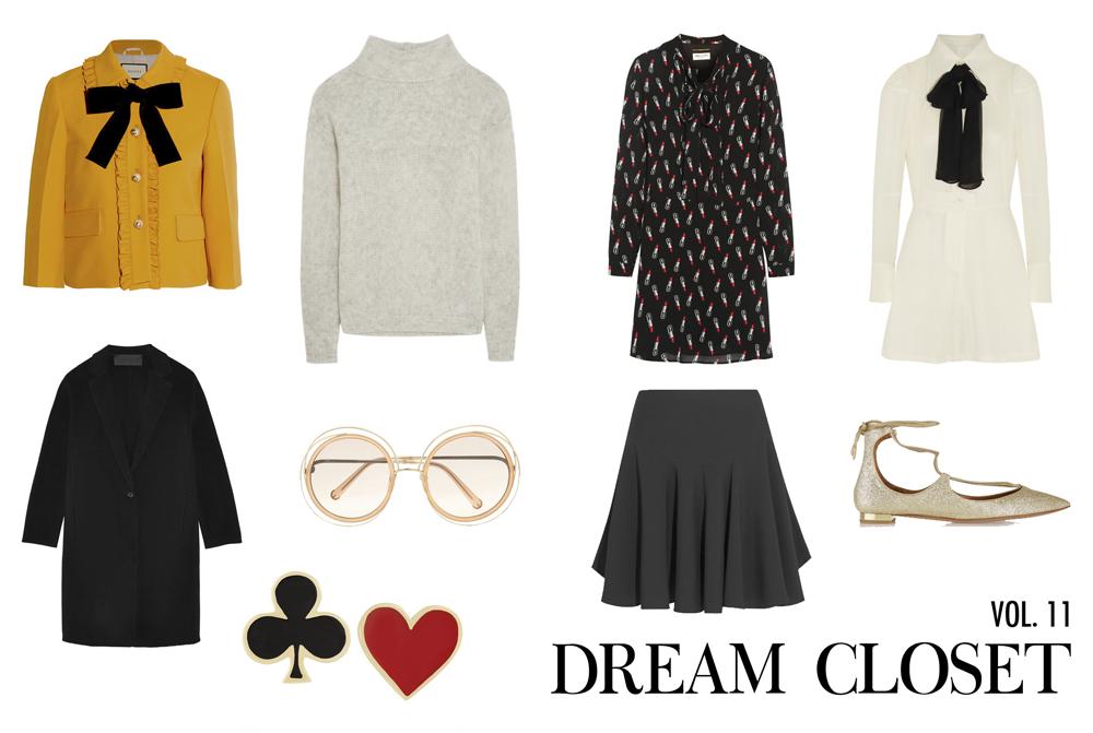 98802c2d5198 Gucci jacket | Frame Denim sweater | Saint Laurent dress | Maison Margiela  playsuit