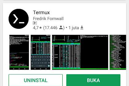 Tutorial Cara install Termux di Android