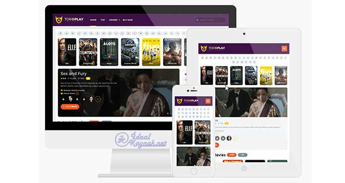 ToroPlay WordPress Movie Theme