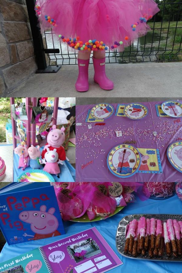 Peppa Pig, girly first birthday theme ideas.