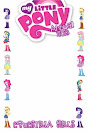 My Little Pony Annual #1 Comic Cover Blank Variant