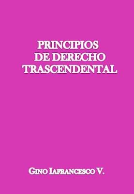 Gino Iafrancesco V.-Principios De Derecho Transcendental-