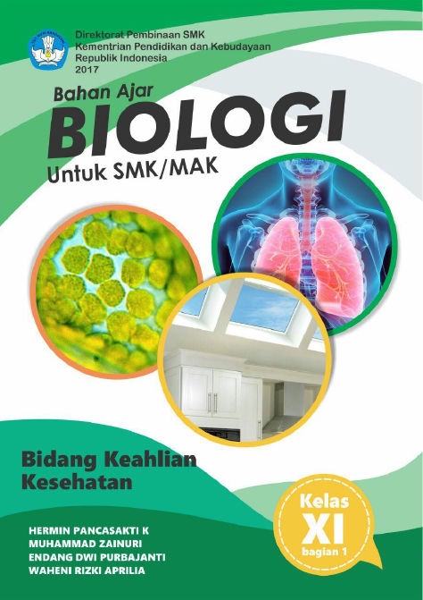 Download Bahan Ajar Biologi (Bidang Keahlian Kesehatan) Untuk SMK/MAK Kelas XI (Bagian 1)