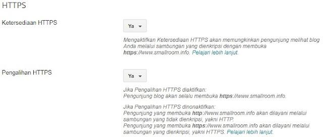 Aktifkan SSL Blogger