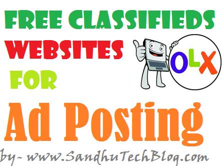 ad posting sites list