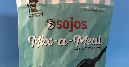 Product Review: Sojos Mix-a-Meal Freeze Dried Dog Food