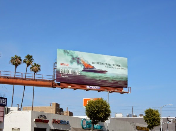 Bloodline season 1 billboard West LA
