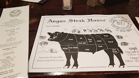 Angus Steak House Auckland menu