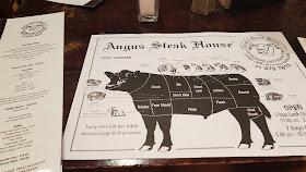 Angus Steak House Auckland menu