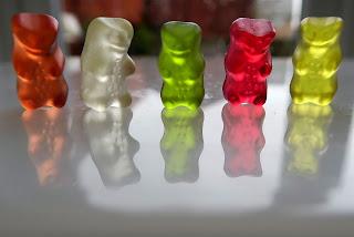 Gummy bear growth + free printable