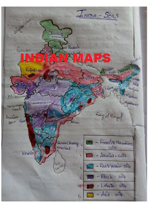 IAS, SSC, GEOGRAPHY, USEFUL INDIAN MAPS