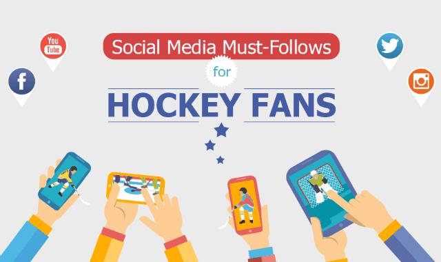 Social Media Must Follow for Hockey Fans