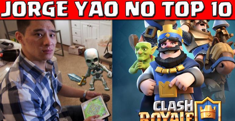 Jorge Yao também esta no Clash Royale - 1