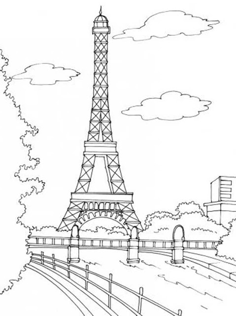 coloriages de paris