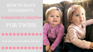 How to Have Successful Independent Playtime for Twins {Guest Post}