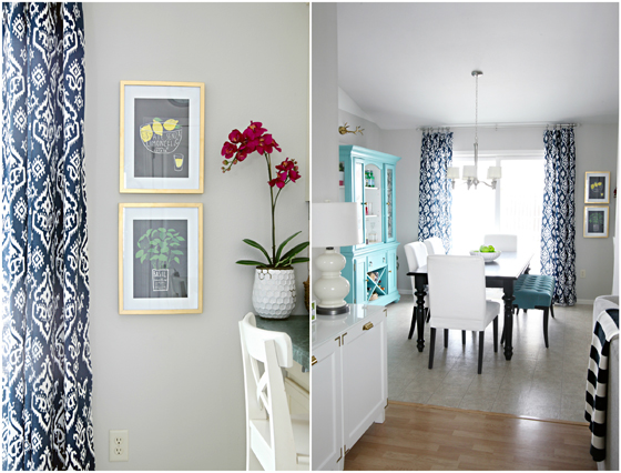 We Also Opted To Do The Same Panels In Both Living Room And Adjoining Dining Space Unify Feeling Flow Between Two Areas