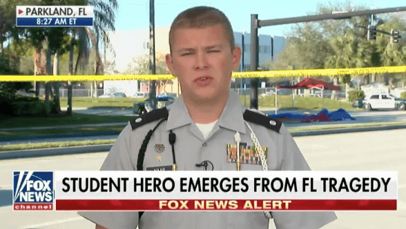 CNN Refused to Allow Florida Shooting Hero Colton Haab to Ask Questions at Town Hall That Didn't Fit Their Narrative