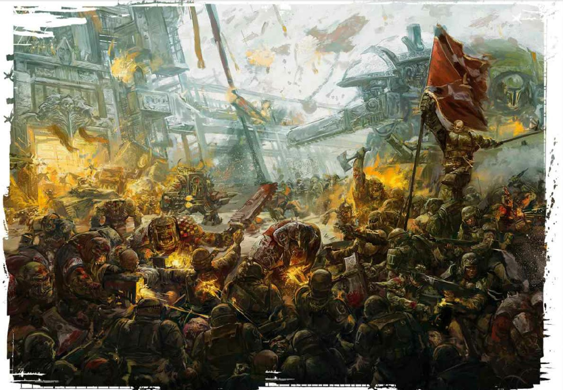 warhammer 40000 how to play 8th edition
