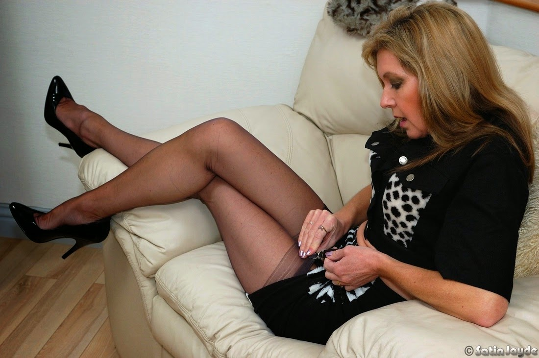 Us spritz stockings series lingerie tv and