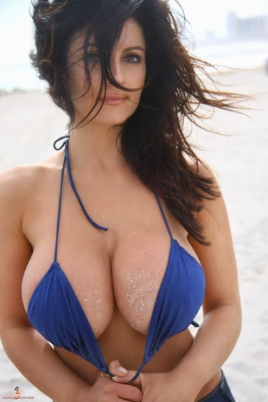 Sexy female boobs