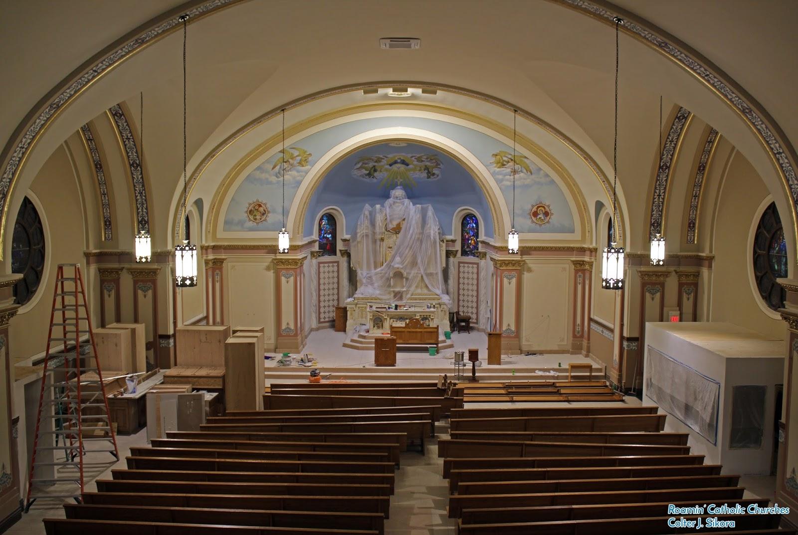 Roamin Catholic Churches Sunday