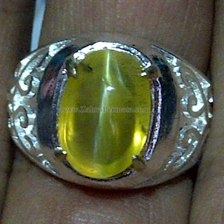 Cincin Batu Permata Opal Cat Eye - ZP 1050