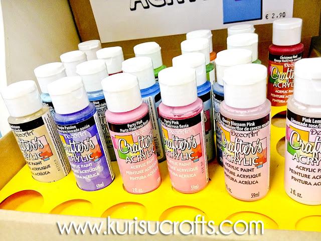 Pintura acrílica en Kurisu Crafts