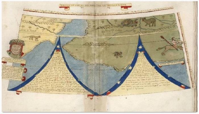 Inilah Penampakan Peta Dunia di Abad Pertengahan
