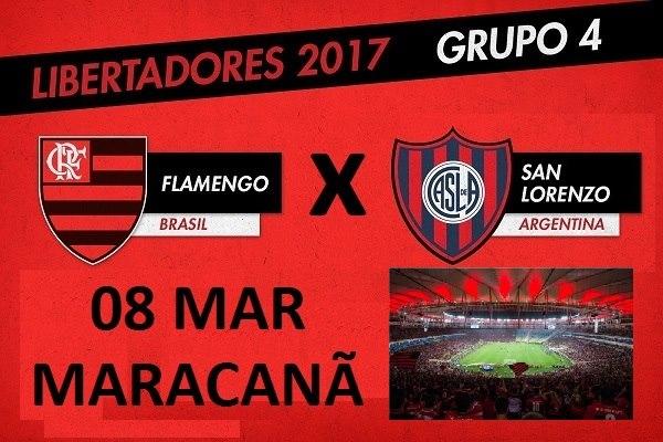 Resultado de imagem para maracanã flamengo vs san lorenzo