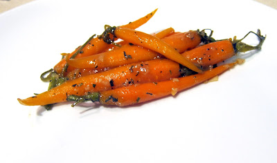 honey mustard carrots
