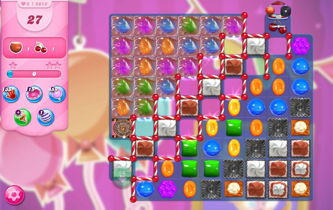 Candy Crush Saga level 5612