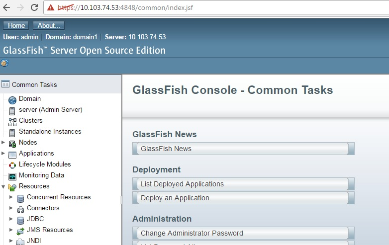Deployeing a NetBeans Java Web Application on GlassFish Server