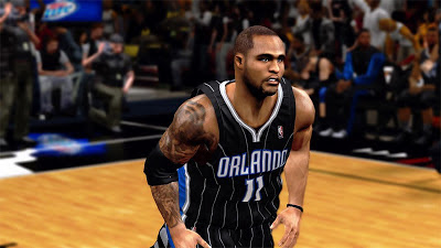 NBA 2K13 Glen Davis Realistic Face Update