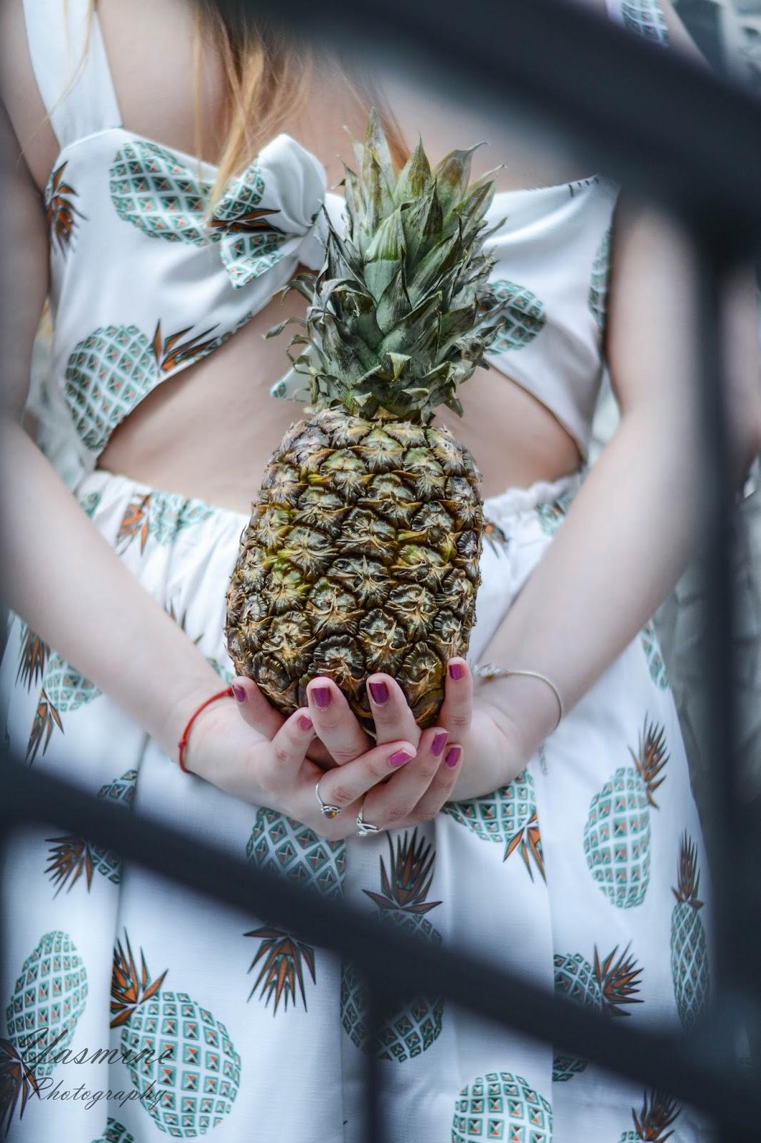 czy warto kupowac na stronach chińskich sklepów zaful sammydress dresslink sukienka w ananasy chińskie sklepy internetowe jakość pineapple dress fashion style melodylaniella yasmine photography p
