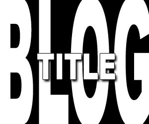 Title Blog