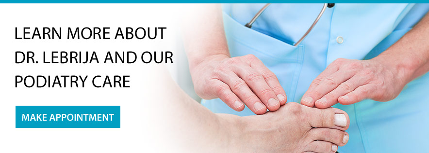 Learn more about our podiatry care