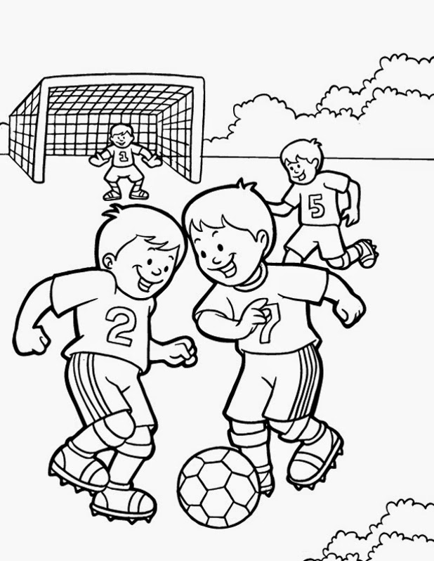Wolrd Cup Brazil Coloring Pages