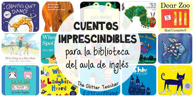 15+ cuentos imprescindibles para la biblioteca de aula de inglés
