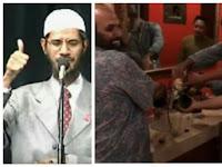 Video, Dr Zakir Naik Datang, Restaurant di Jakarta ini Langsung Taubat Buang Alkohol