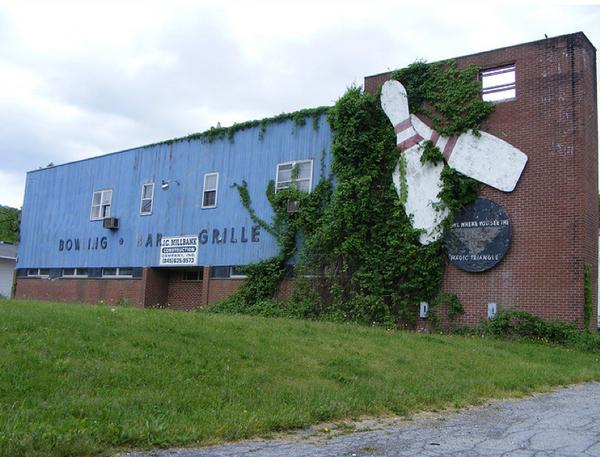 Old Bowling Alleys Pennsylvania