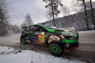 Simone Tempestini si Matteo Chiarcossi - Ford Fiesta R5 - Raliul Suediei 2016