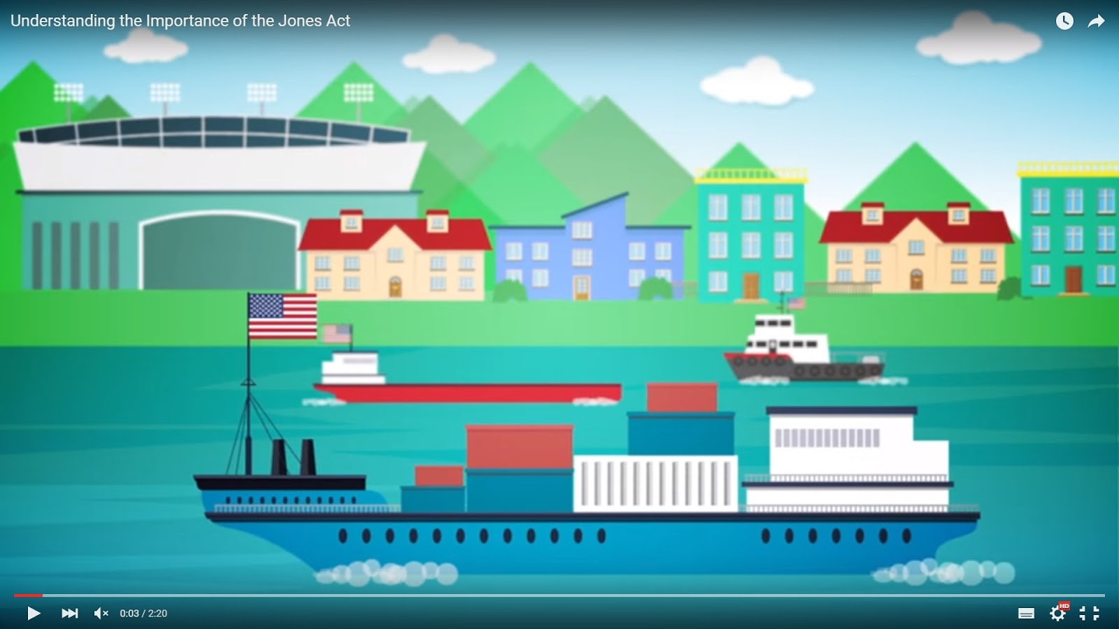 ANIMATION: Jones Act Explained