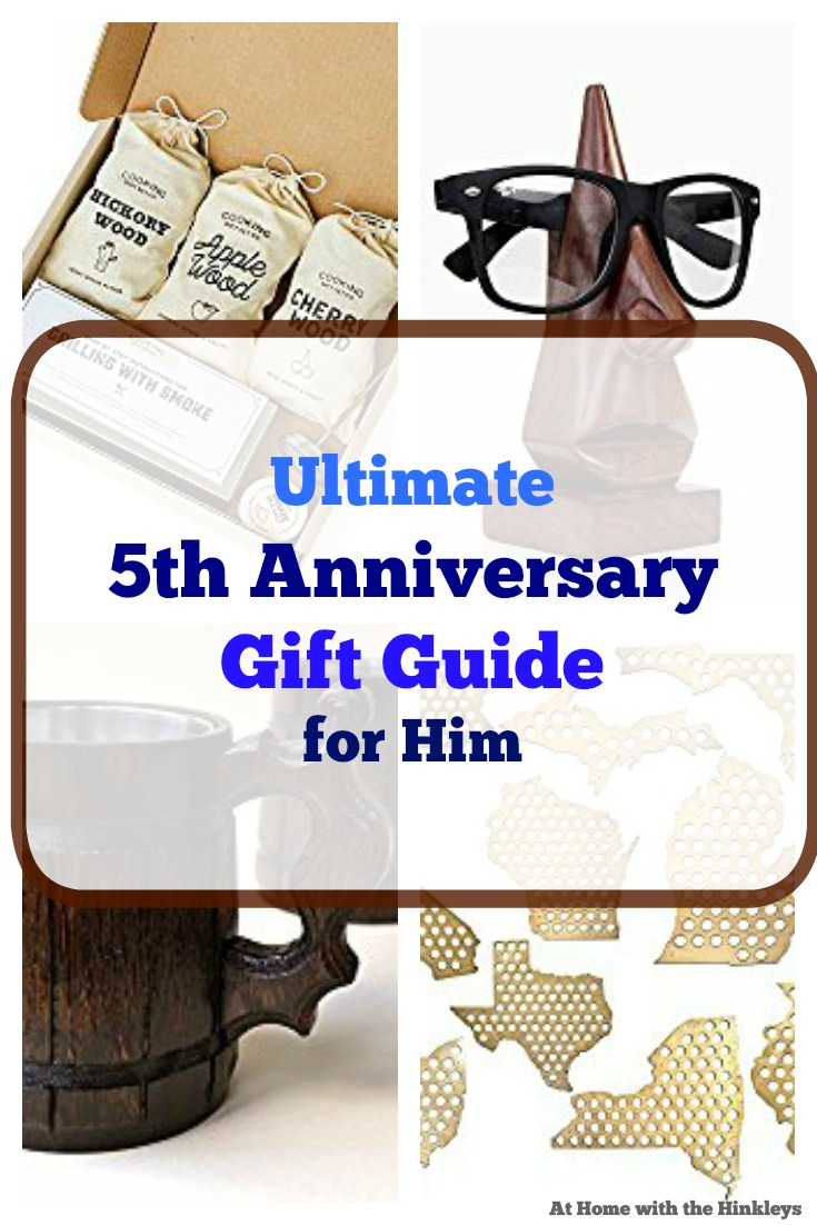Fifth Year Wedding Anniversary Gift: At Home With The Hinkleys: 5th Year Wedding Anniversary